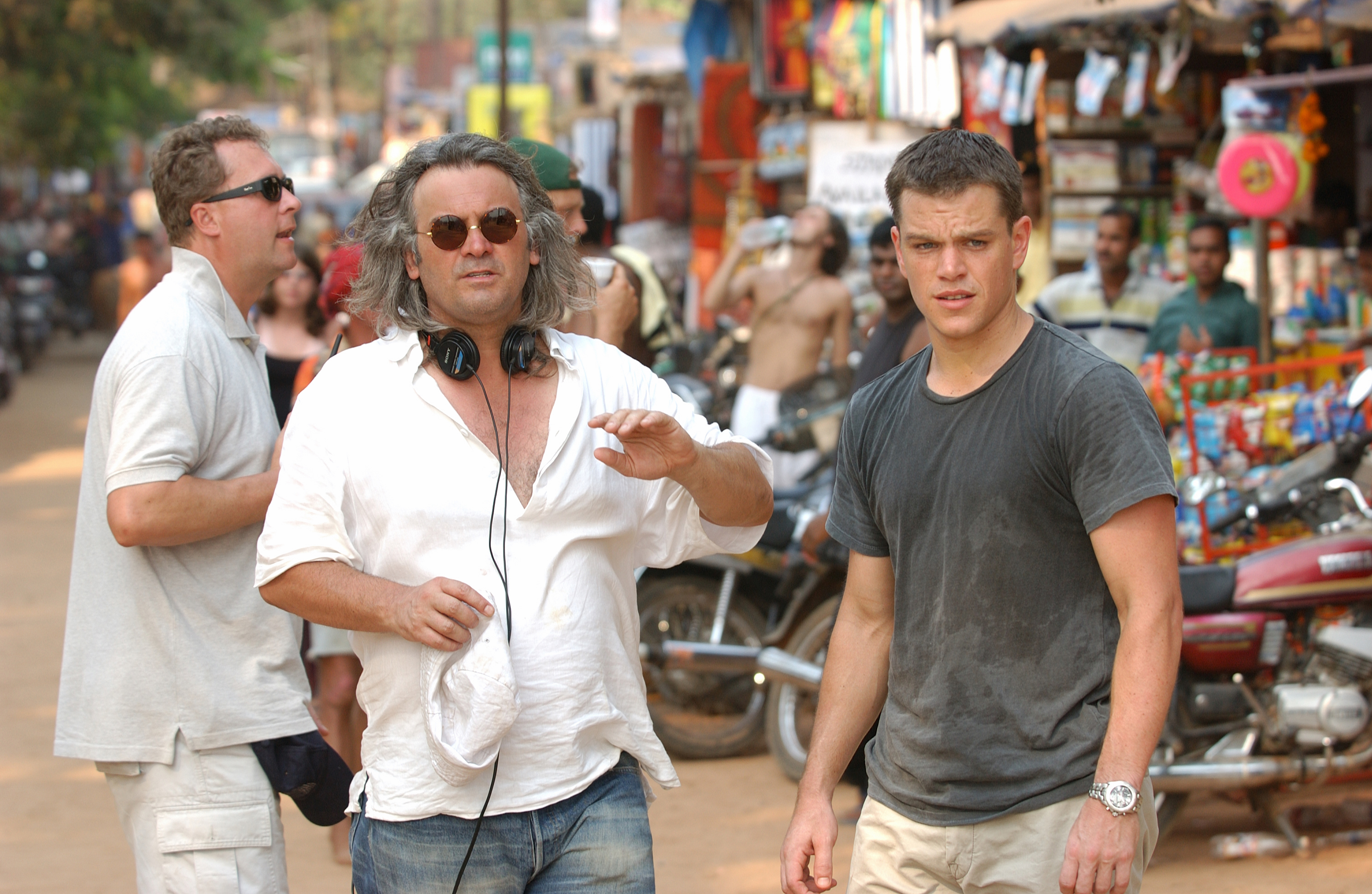 "What are ""Jason Bourne"" director Paul Greengrass' trademarks? 