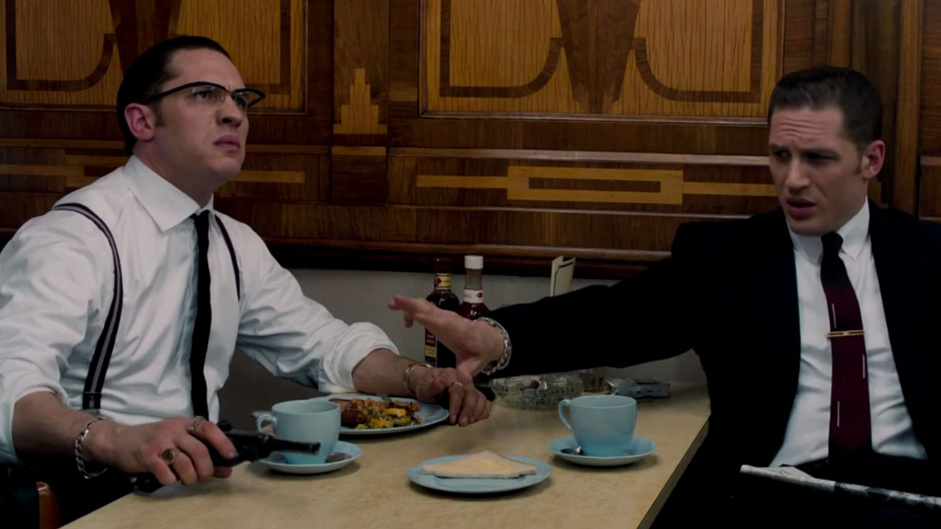 How Did Tom Hardy Approach Playing Both Kray Brothers In Legend Watch The Take