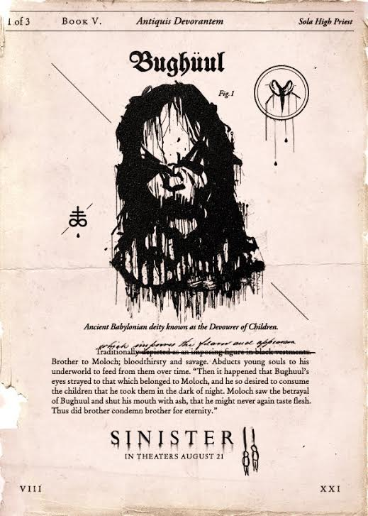 What Is The History Of The Bughuul Demon In Sinister And Sinister 2 Watch The Take