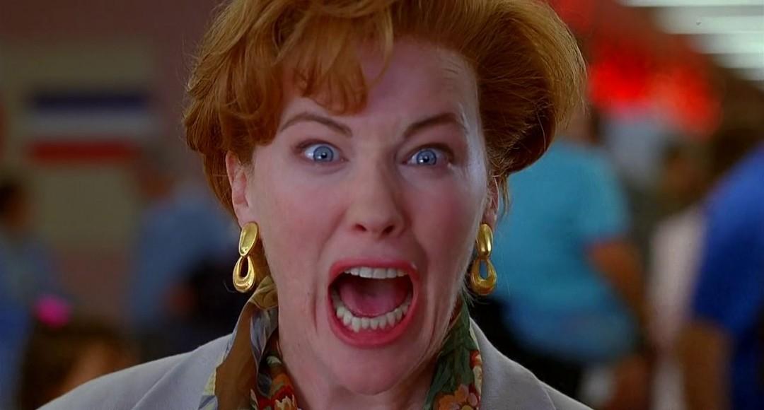 Moeder Kate, gespeeld door actrice Catherine O'Hara