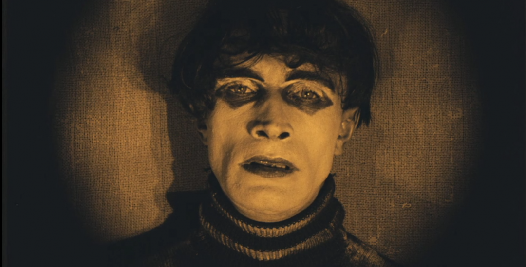 caligari 1920 set of one 14 by 20 and one 18 velveteen pillow case the cabinet of dr german expressionism