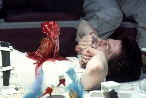 """John Hurt in """"Alien""""."""